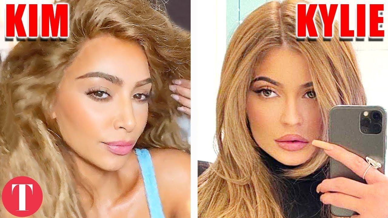 10 Times Kylie Jenner Copied Kim Kardashian In 2020 Kim Kardashian Kylie Jenner Kylie Jenner Kim And Kylie