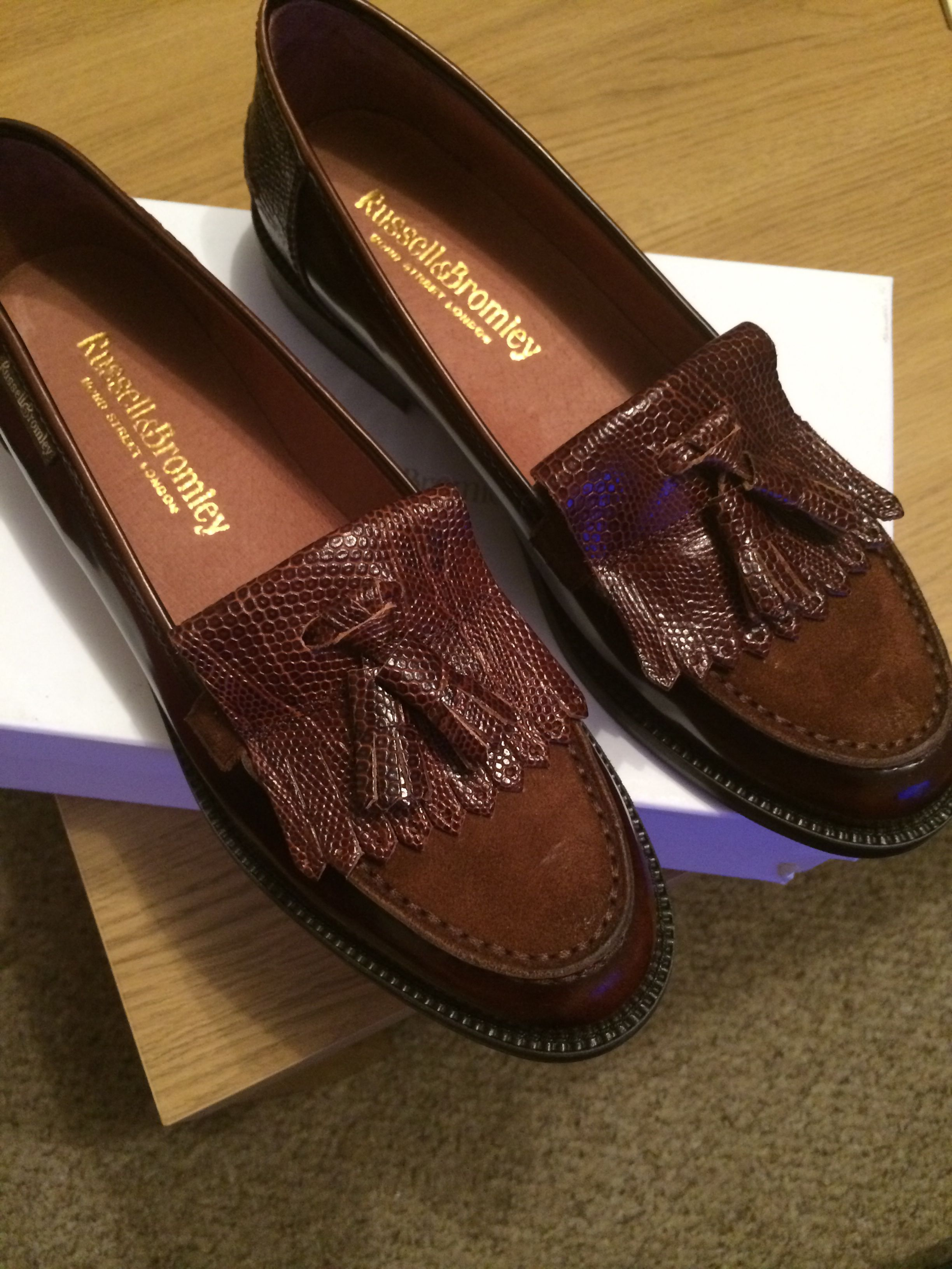 9f93c3094a3 Russell   Bromley  chester  loafers