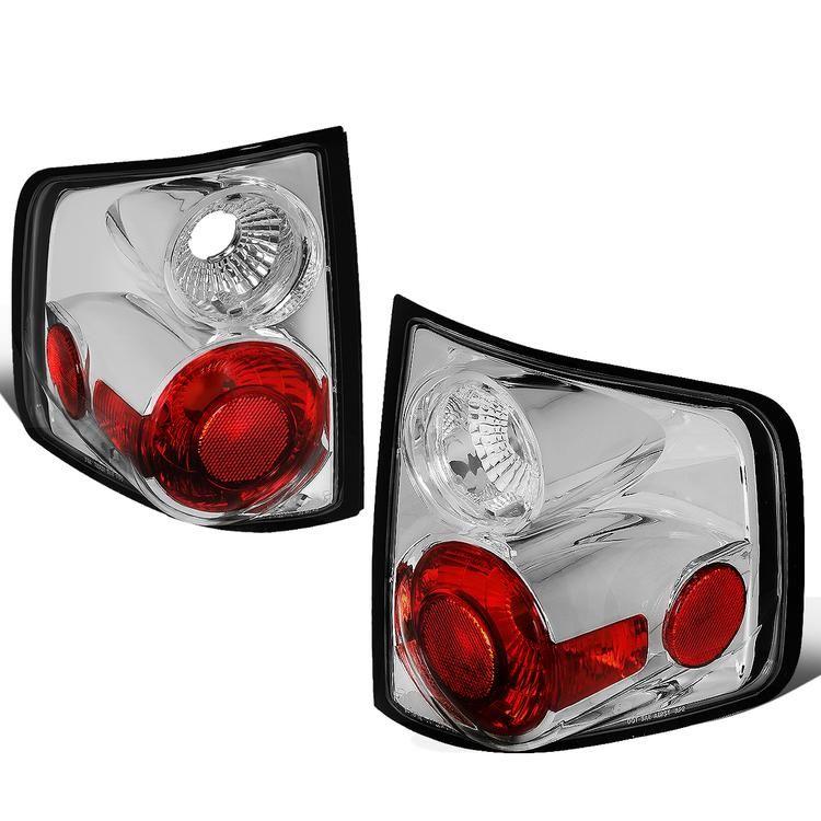 Chevy//GMC//Isuzu 94-04 S10//Sonoma//Hombre Smoke Rear Tail Light Brake Lamp Set