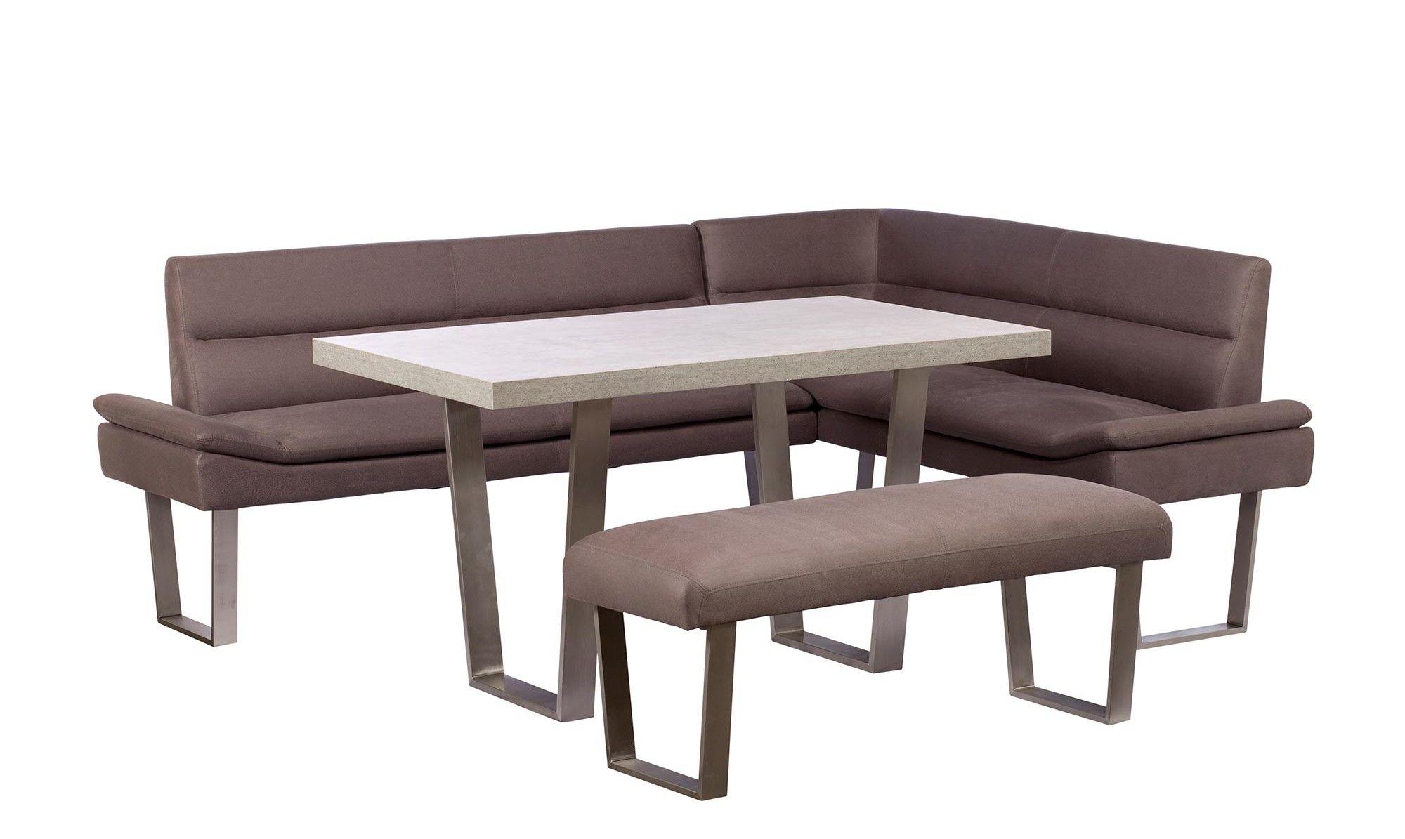 Sia LHF 135cm Corner Dining Table Set Rectangle Table Sets