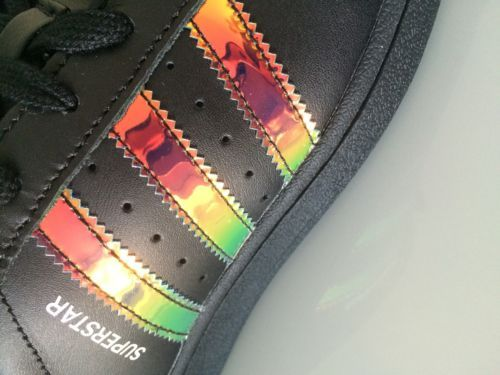 adidas superstar iridiscente