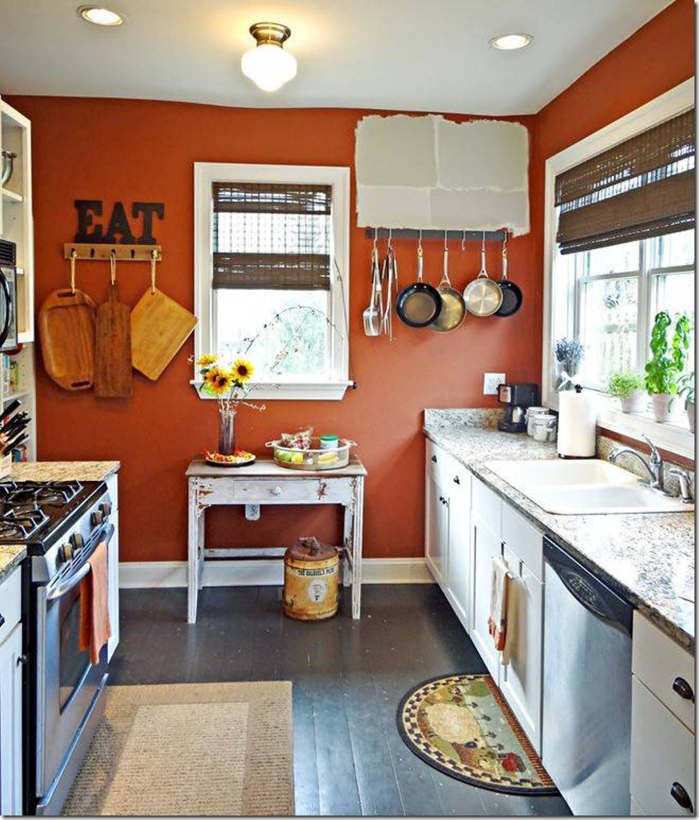 Awesome 110 Burnt Orange Kitchen Decor Ideas Orange Kitchen