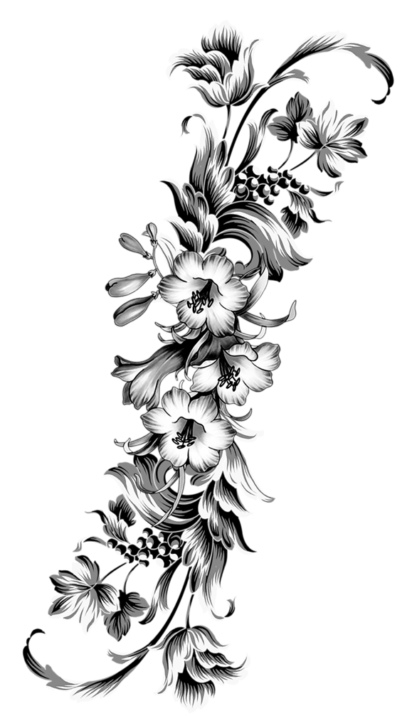 "Photo from album ""Art nouveau"" on Татуировка цветы"