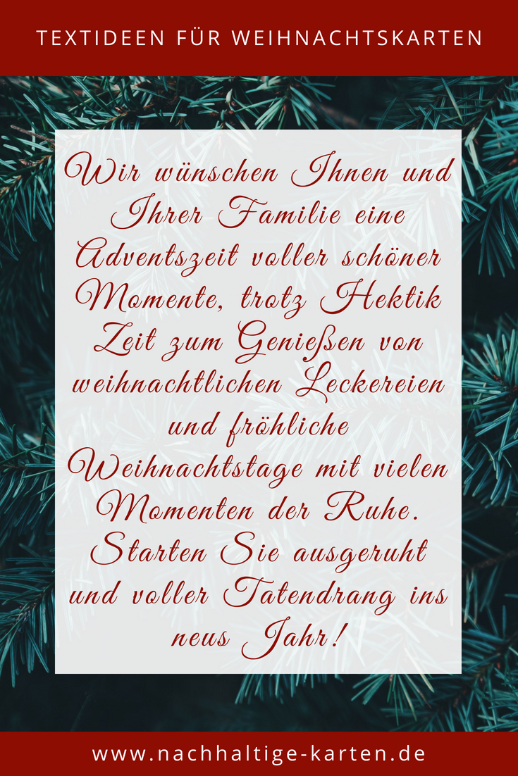 Textideen Fur Geschaftliche Weihnachtskarten Weihnachtsspruche Weihnachtsgruss Weihnachtskarte Nachhalti Weihnachtskarten Weihnachtsspruche Weihnachten Text
