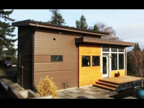 grandma builds tiny cottage on daughter s seattle property small rh pinterest com