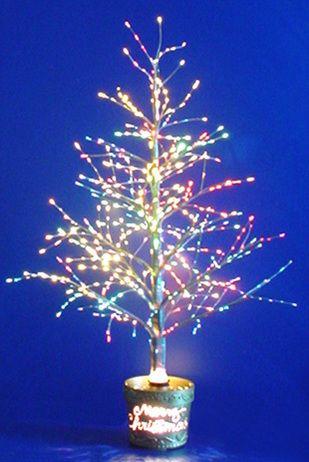 Rotating Fiber Optic Christmas Tree