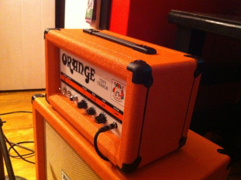 diy orange tiny terror head shells 2 orange amps pinterest guitar amp and guitars. Black Bedroom Furniture Sets. Home Design Ideas
