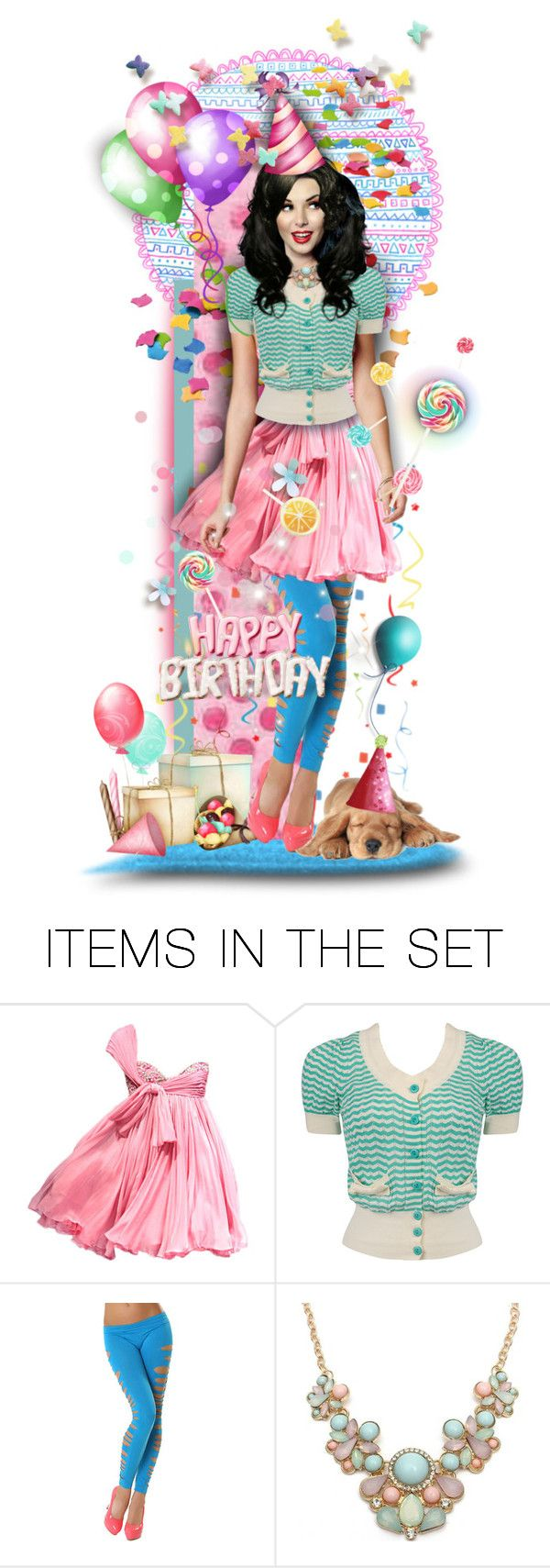 """Happy Birthday!"" by tracireuer ❤ liked on Polyvore featuring arte"