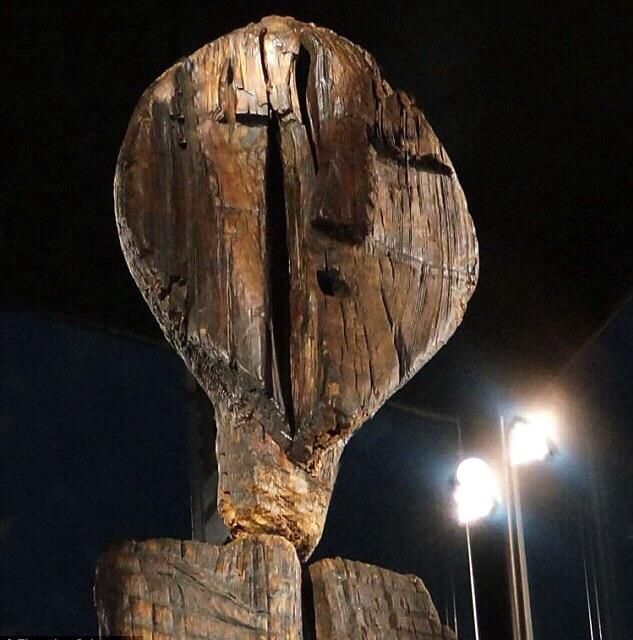 The Shigir Idol is believed to be the oldest wooden sculpture in ...