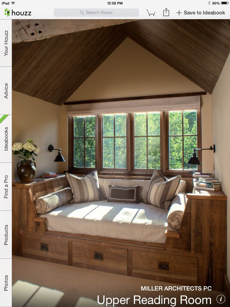 dream master bedroom%0A Book nook  reading nook  reading chair  reading room  bookworm u    s dream    I  hope to have one in my future home please  u     thank you