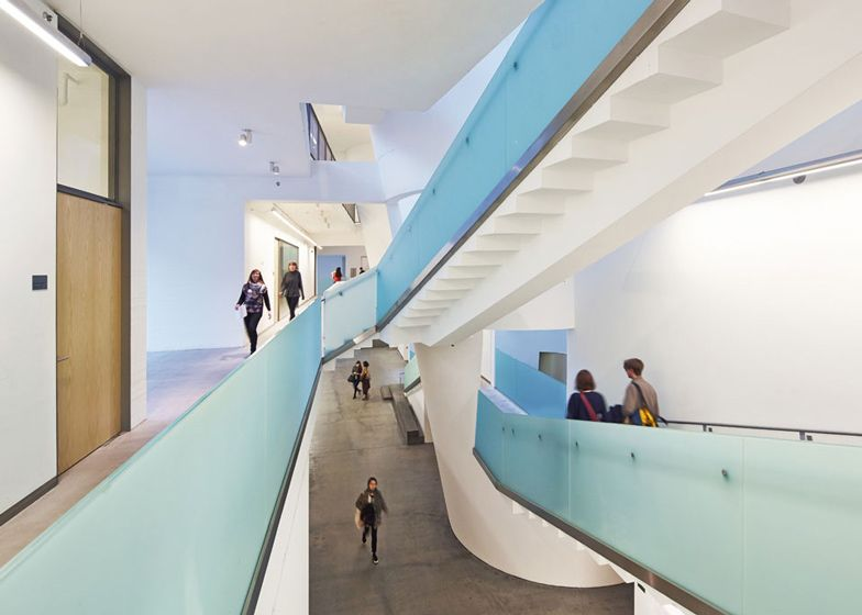the new building of the glasgow school of art by seven hall rh pinterest co uk