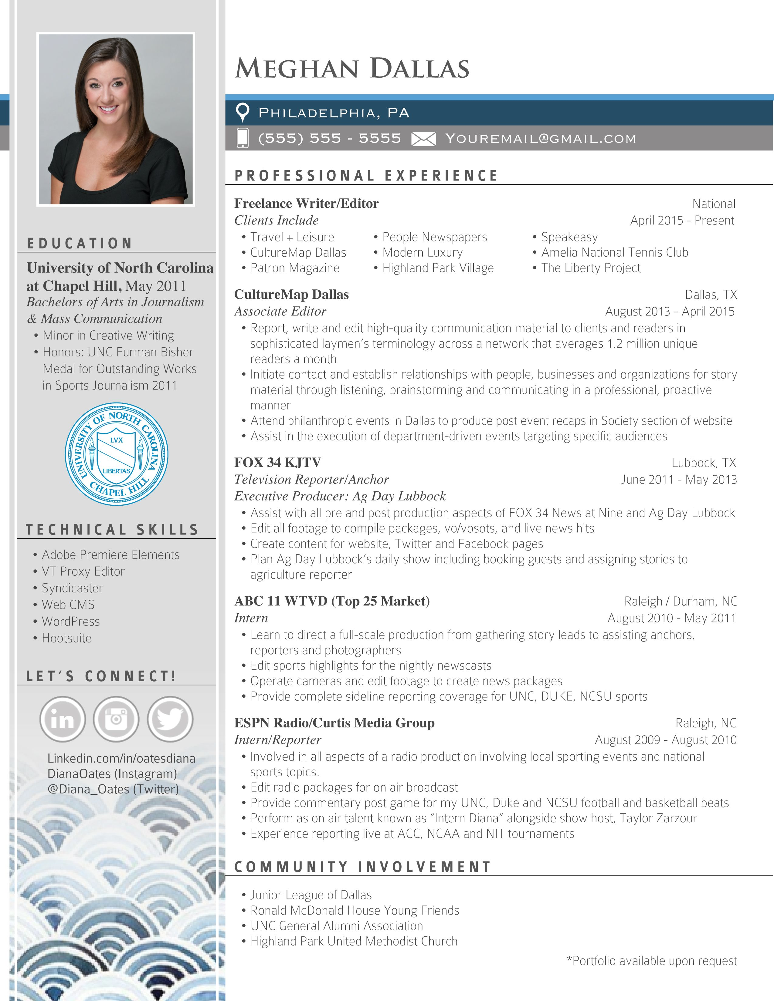 Creative Professional Resume Design By Elevatedresumes Com Dream