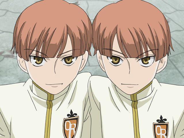 A younger version of Kaoru and Hikaru   OHSHC   Host club, High