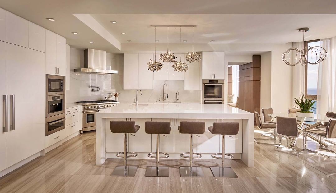 miami interior design firm on instagram u201cbeautiful kitchen design rh pinterest com