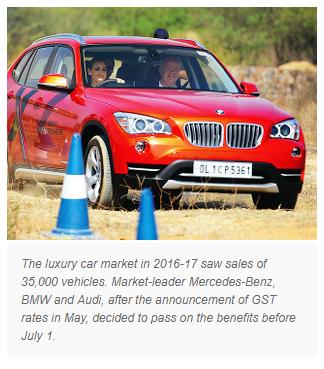 MUMBAI/DELHI Luxury cars have a bit more