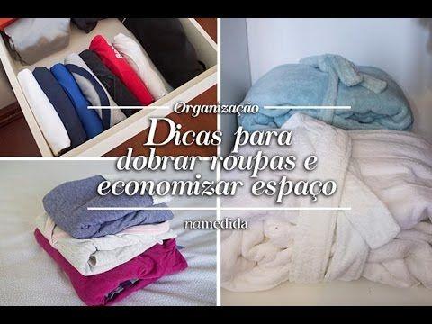 DOBRANDO CAMISETAS PARA VIAGEM !!! YouTube