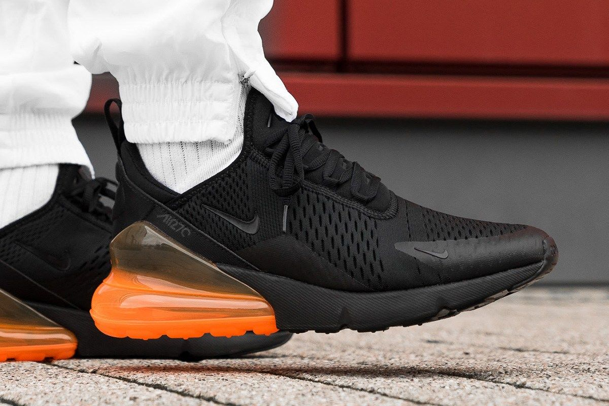 On-Foot: Nike Air Max 270 in Total Orange & Hot Punch - EUKicks