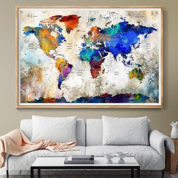 Extra large wall art push pin world travel map push pin travel map extra large wall art push pin world travel map push pin travel map wall art gumiabroncs Images