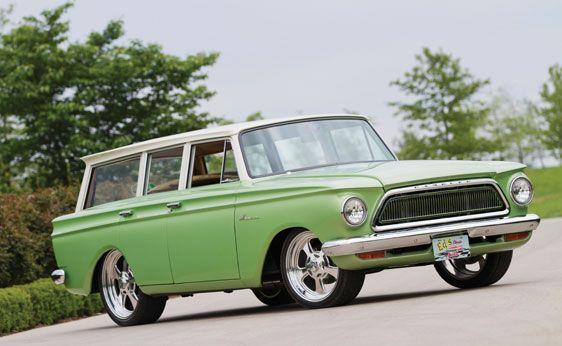1962 rambler american custom station wagon station wagons rh pinterest com