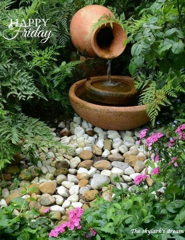 Water features can easily transform regular if