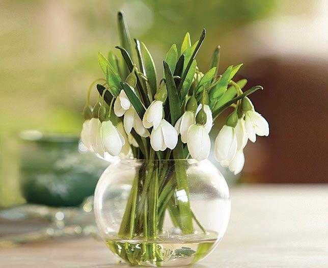 Snowdrop Arrangement Bloom Artificial Flowers Cvety Vesna Idei