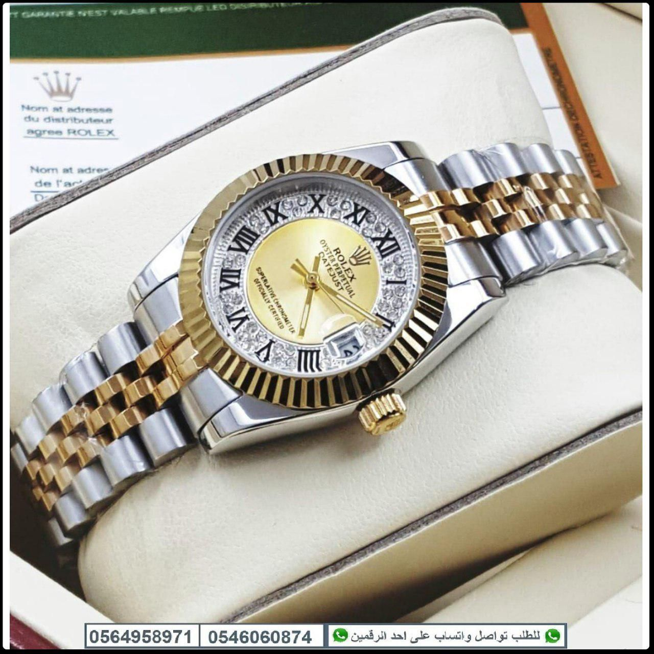 ساعات رولكس رجالي Rolex درجه اولى مع علبه مخمل و كرت الماركه هدايا هنوف Kors Watches Bracelet Watch Michael Kors Watch