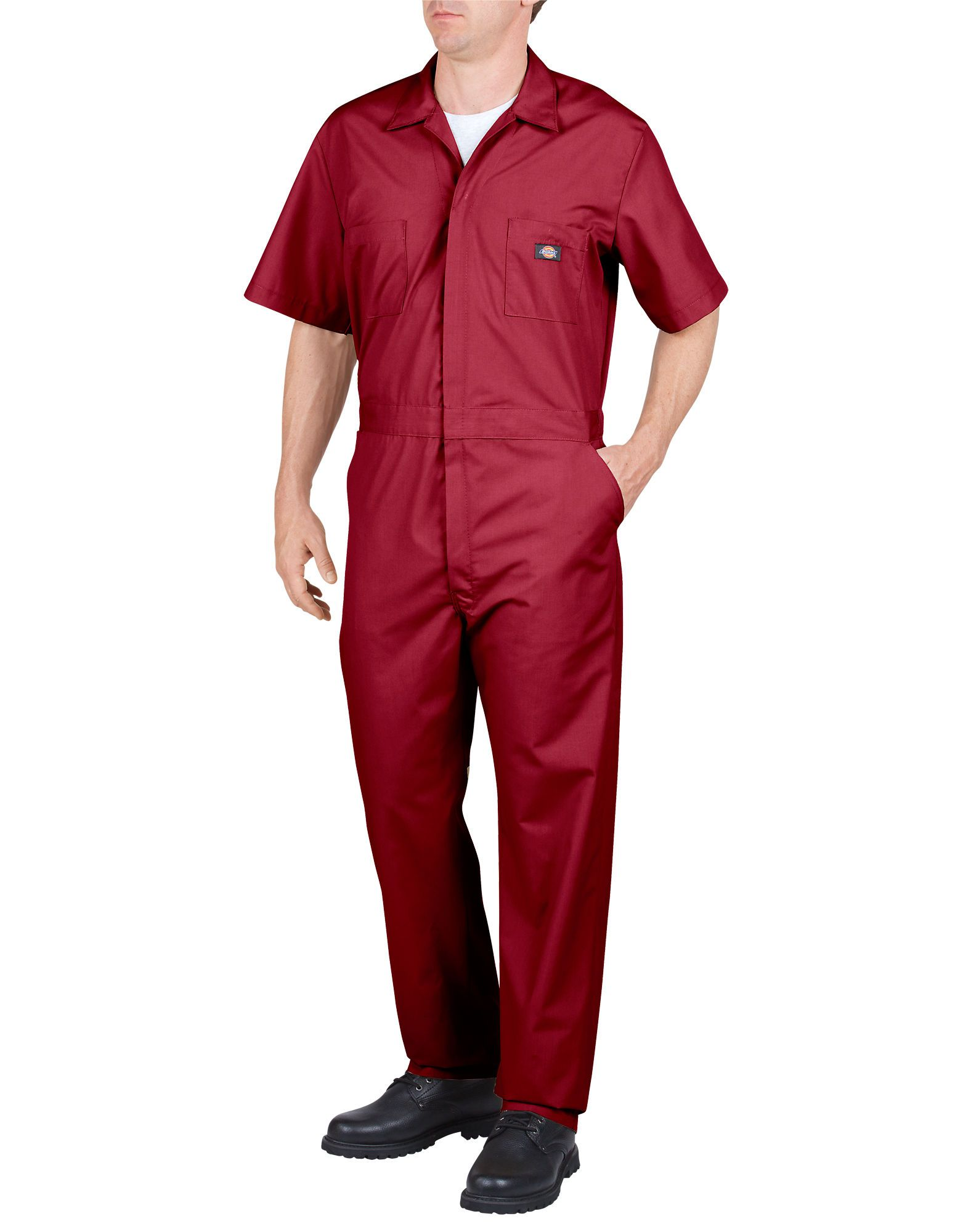 short sleeve coveralls red work coveralls dickies on work coveralls id=60688