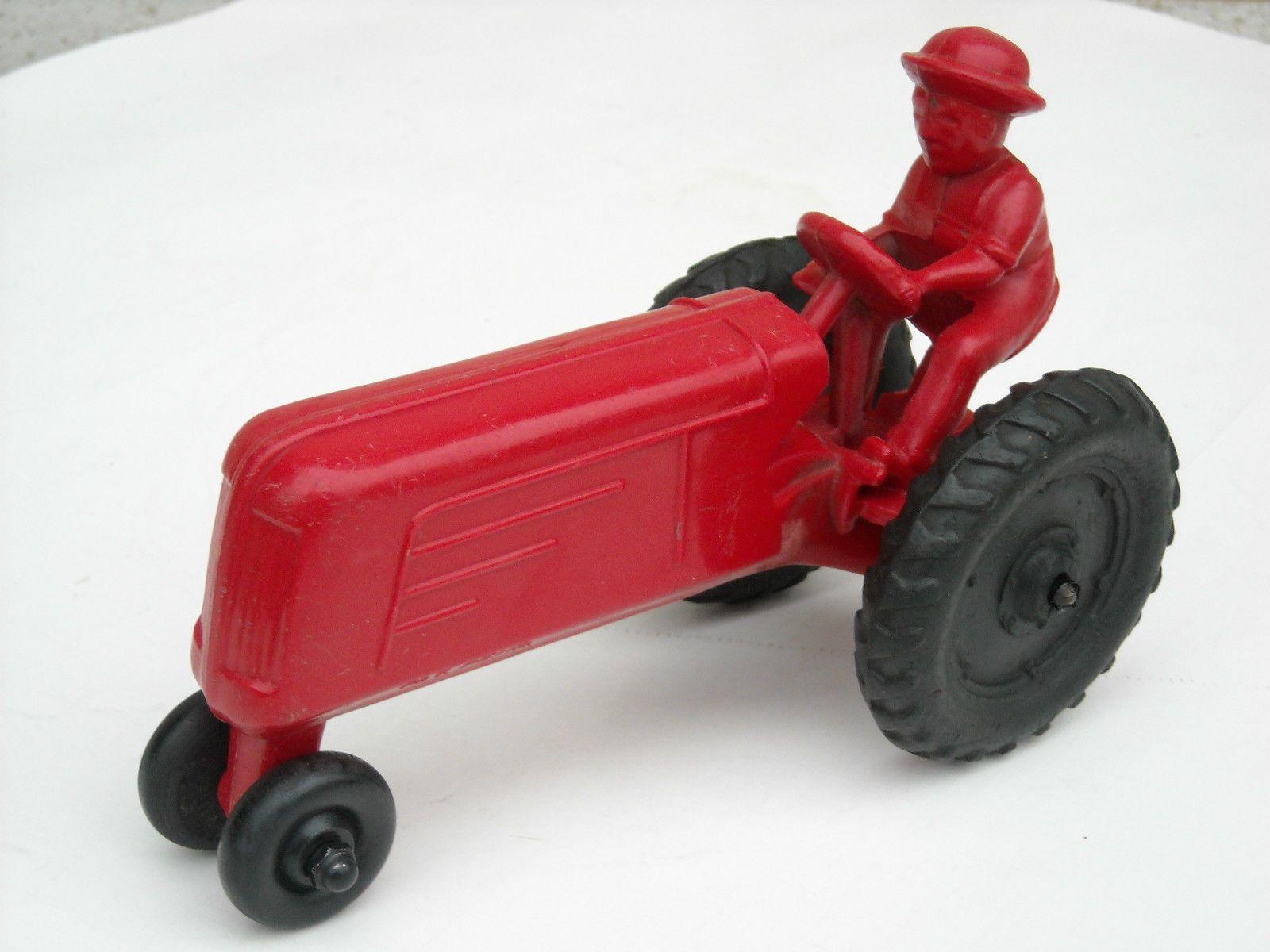 Vintage & Rare E.R. Roach Toy Tractor Tractors, Vintage