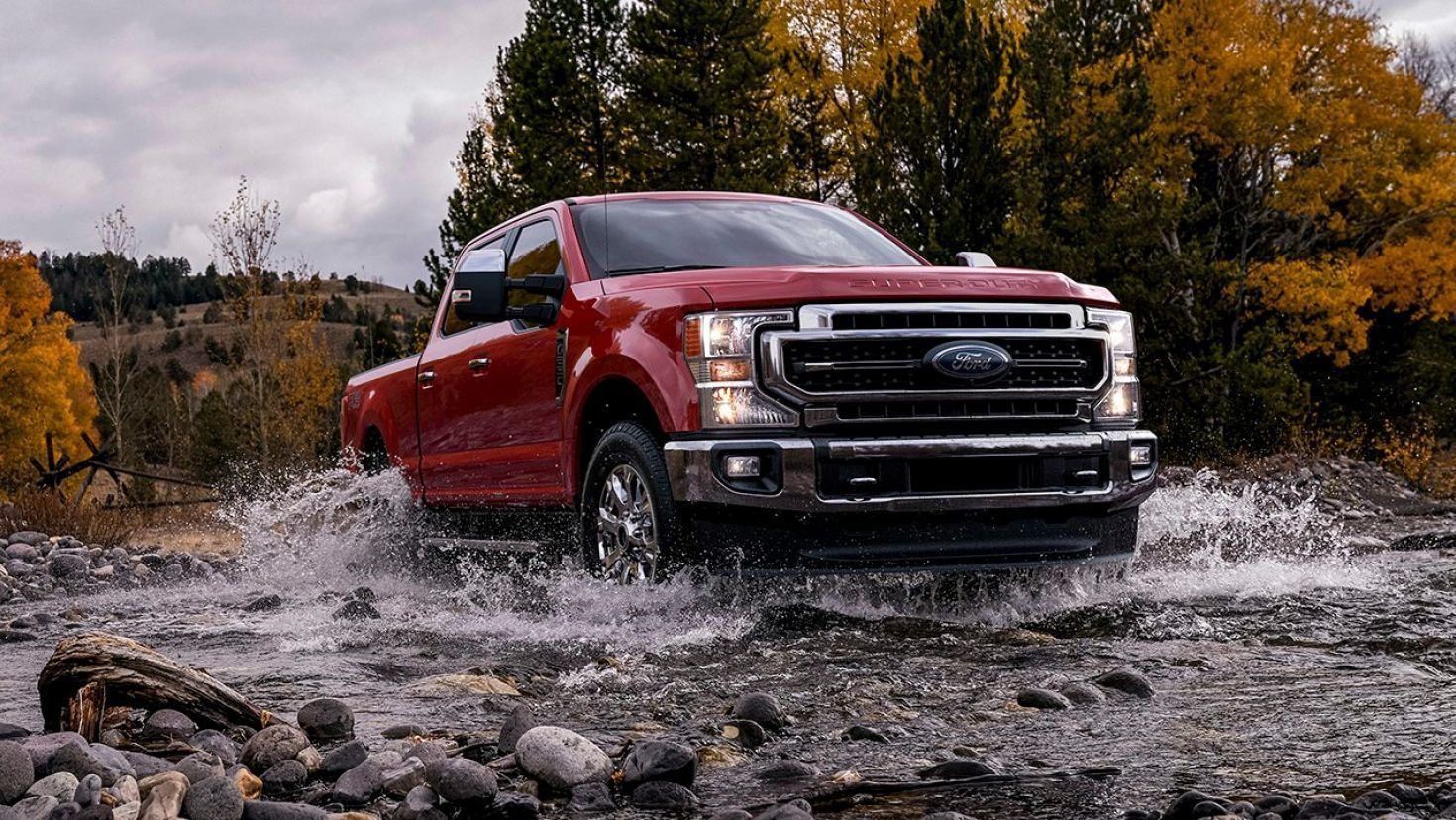 2020 Ford F Series Super Duty Debuts New Godzilla 7 3 Liter V8