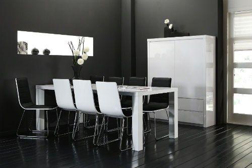 Une salle à manger moderne  à la fois tendance et agréable