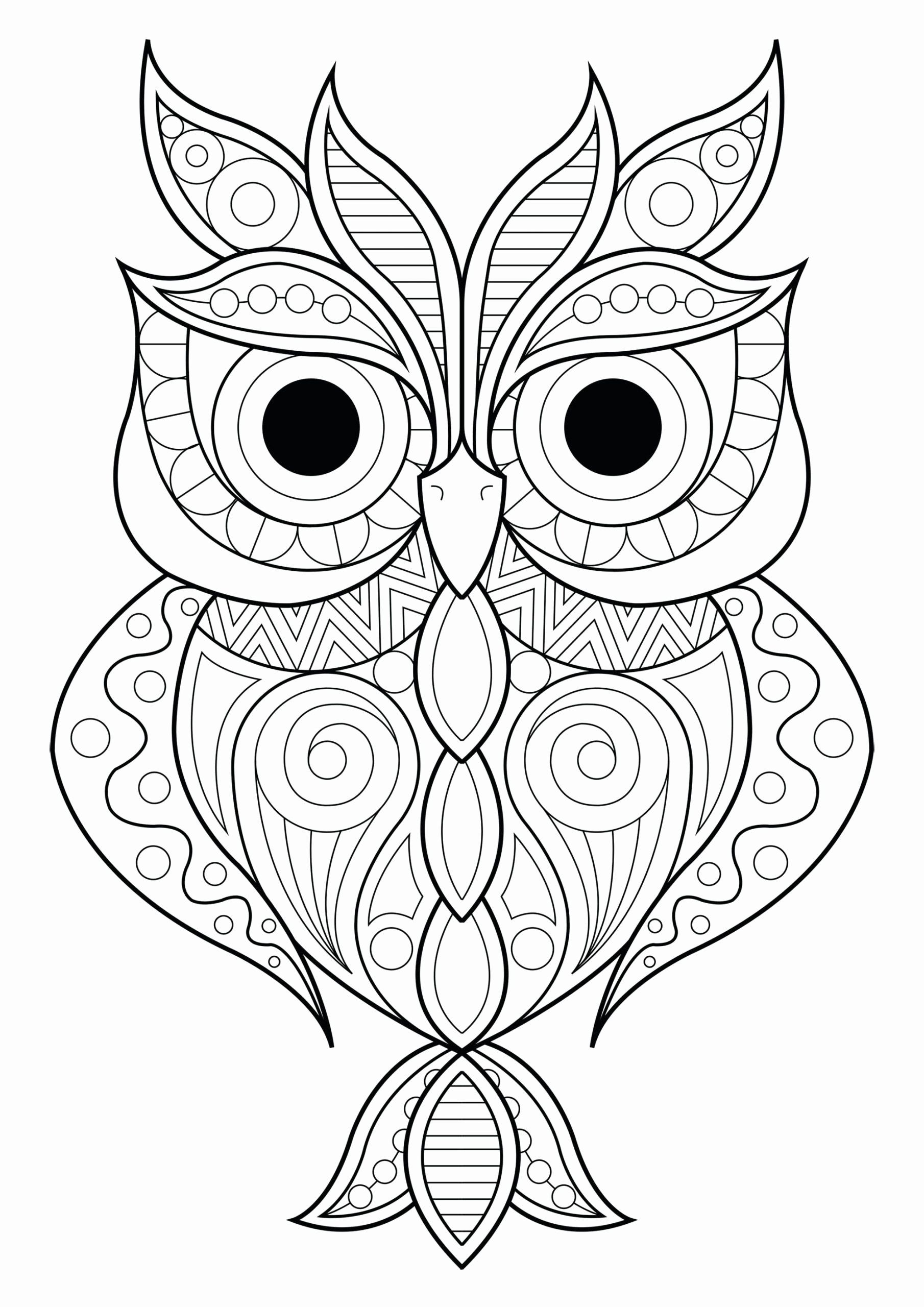 Owl Coloring Book For Adults Inspirational Coloring Pages Coloring Book An Owl Advanced Books F Owl Coloring Pages Animal Coloring Pages Mandala Coloring Pages