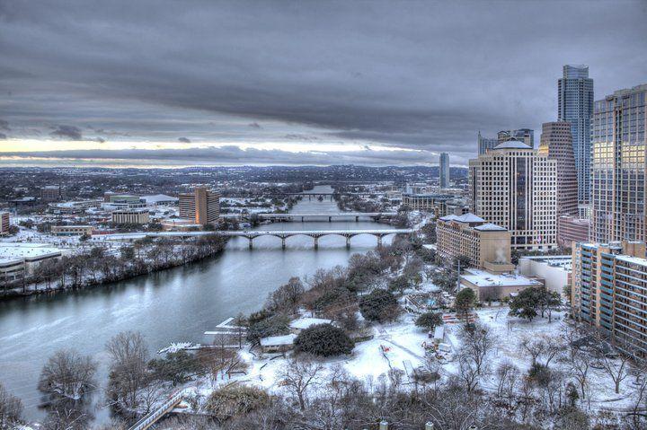 Austin texas in the snow austin texas austin texas snow
