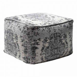 Grey Kilim Pouffe French Bedroom Vintage Rugs Vintage Kilim