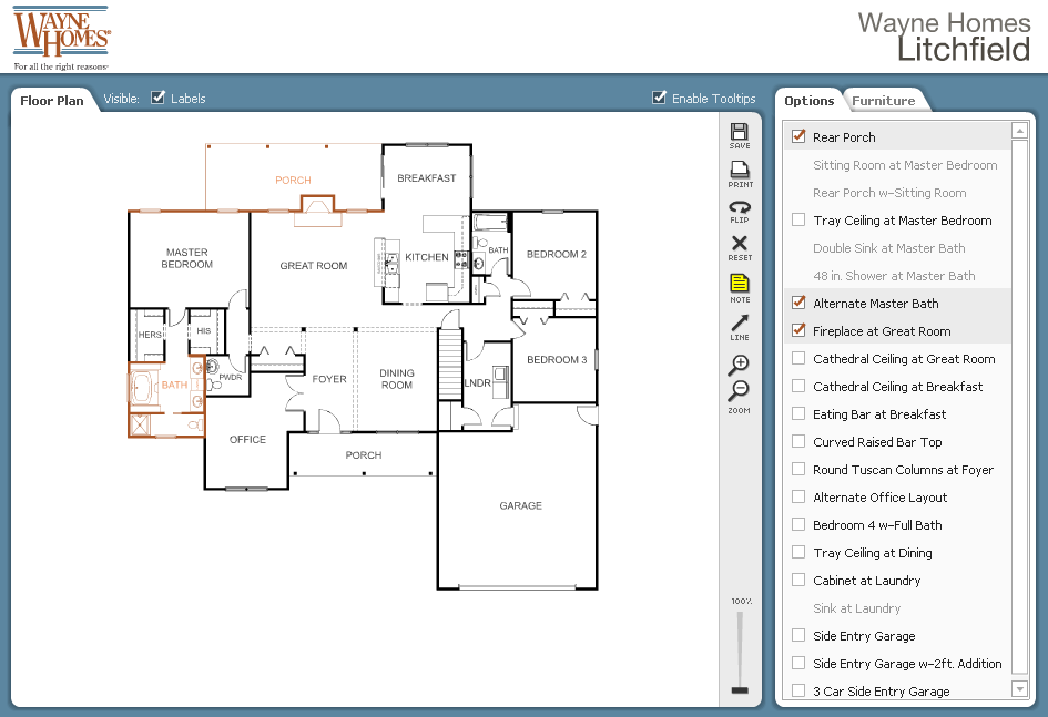 Architecture, Waybe Homes Interaction Floor Plans Nice Builder ...
