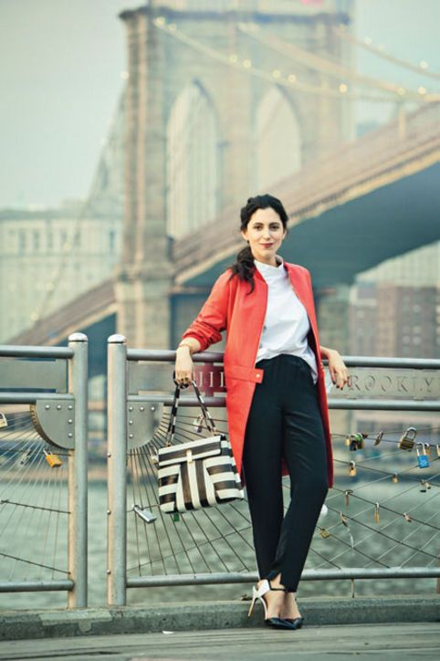 The Brooklyn S Work Outfit As Seen On Interior Designer Susana Simonpietri