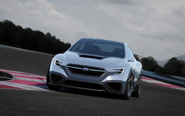 Download Wallpapers 2017 Subaru Viziv Performance Concept