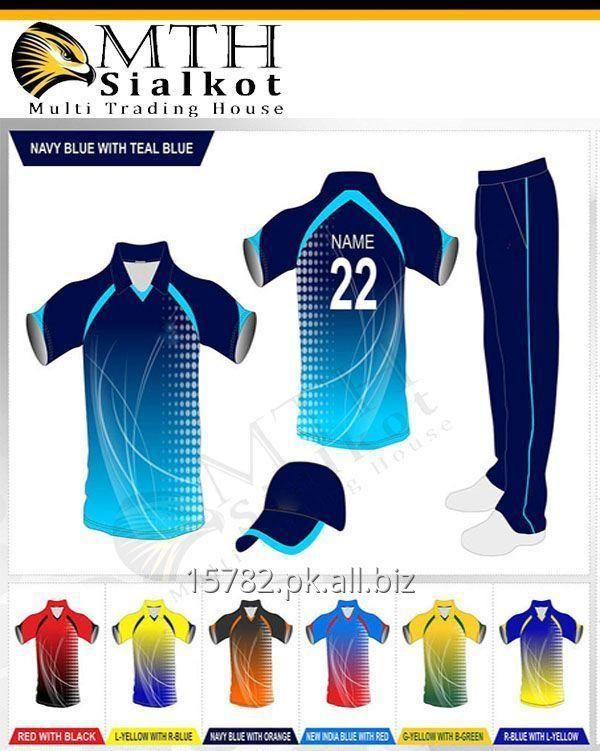 Store Multi Sublimation Printed Cricket Uniforms In Online Sialkot FKJl3T1c