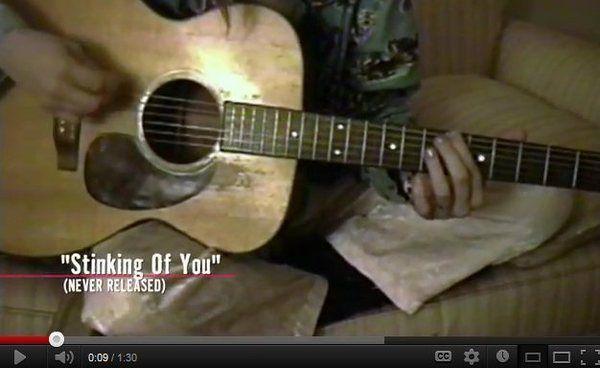 A new Kurt Cobain's song?
