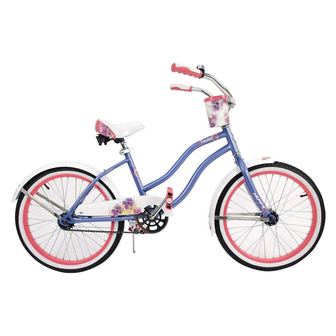 Huffy 20 Girls Fresno Cruiser Periwinkle Huffy Bicycle Frame Size Cruisers