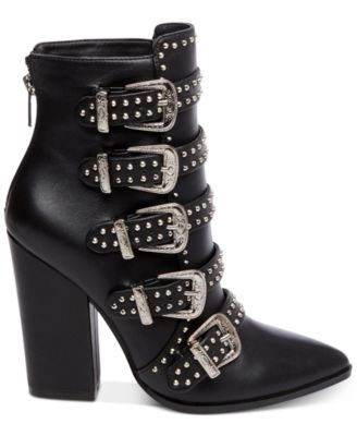 0efaae89555 Steve Madden Comet Studded Western Booties  189.00 Steve Madden takes  edgy-chic style to dizzying heights with the amazing pointed-toe Comet  booties.
