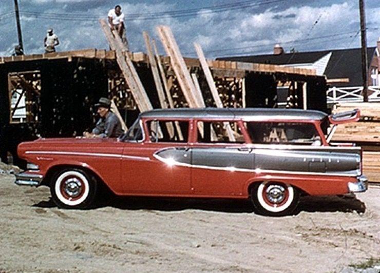 1958 Edsel Villager Wagon Edsel Ford Edsel Station Wagon