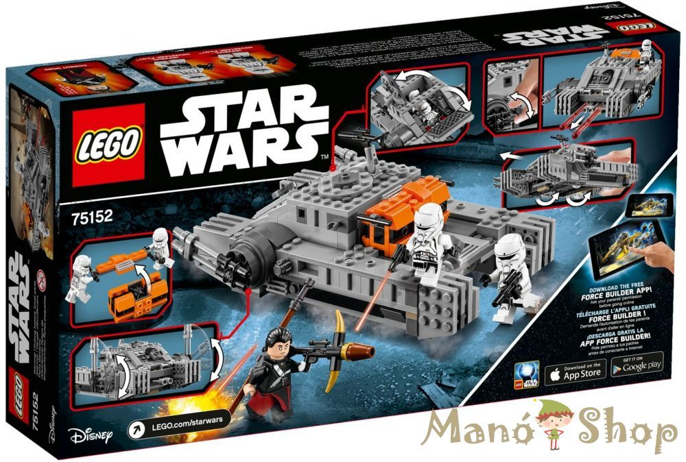 LEGO Star Wars Birodalmi légpárnás támadóhajó™ 75152 | LEGO ...