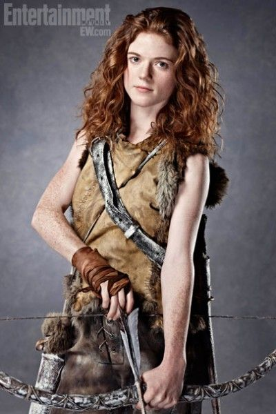 Rose Leslie Ygritte Game Of Thrones Season 3 Entertainment