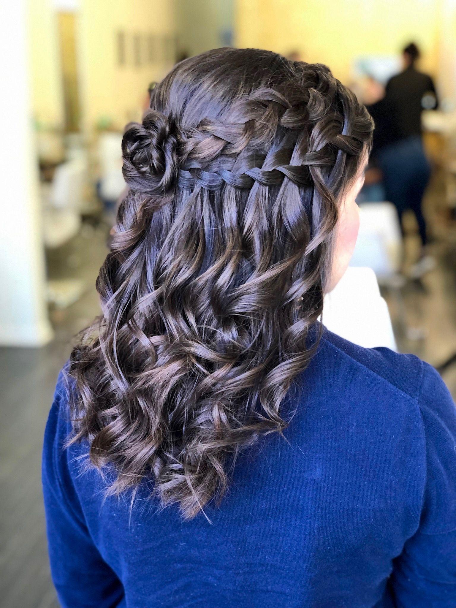 texture braids hair style