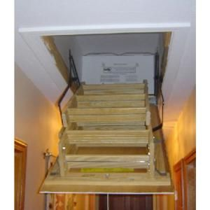 Attic Stair Cover & 25 in. x 54 in. Attic Stair Cover | Attic stairs Energy ...