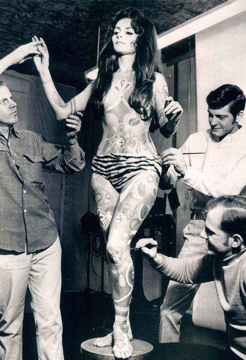 1969, gogo dancer, black and white, vintage # ...