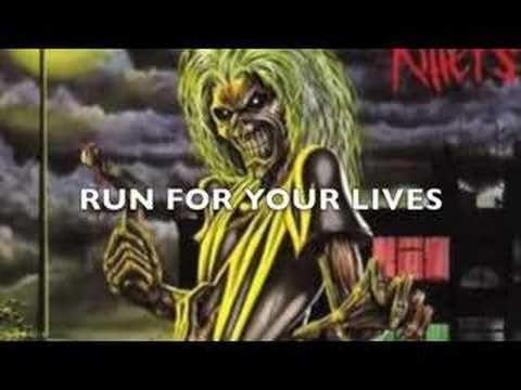 Iron Maiden Run To The Hills Lyrics Hd Run To The Hills