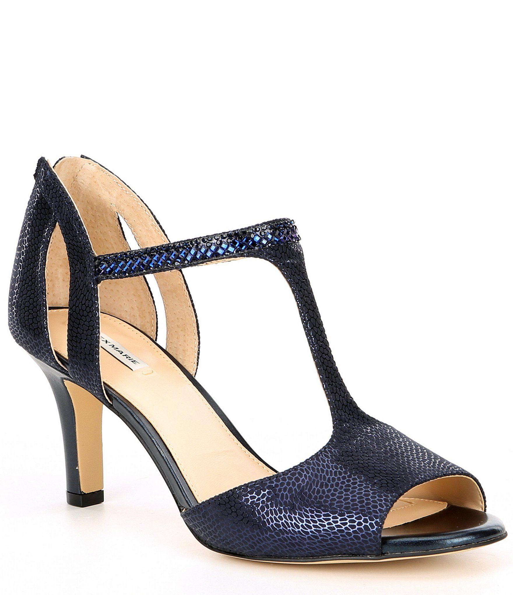 Dress sandals, Navy blue dress sandals