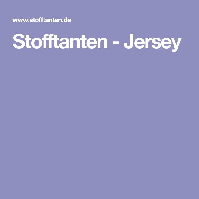 Stofftanten-Jersey