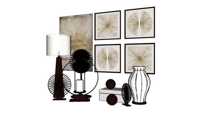 Recent 3d Model Of Vase Home Decor Decor Rustic Home Interiors